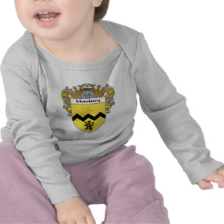 Morrissey Coat of Arms (Mantled) T Shirts