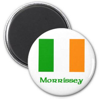 Morrissey Irish Flag Refrigerator Magnet