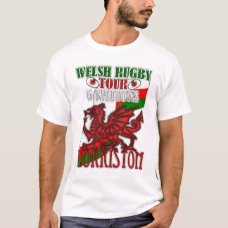 Morriston Welsh Rugby Tour 6 Nations T Shirt