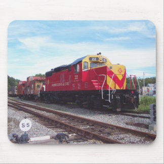 Morristown and Erie Railroad Engine # 22 Mouse Mat