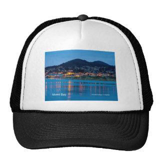 Morro Bay After Dark California Products Mesh Hats