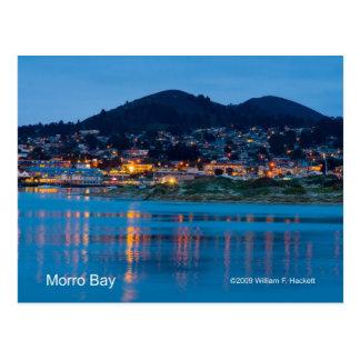 Morro Bay After Dark California Products Postcard