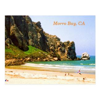 Morro Bay, California Travel Postcard