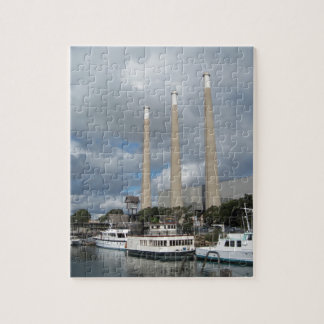 Morro Bay Fishing Boats and Smokestacks Puzzles