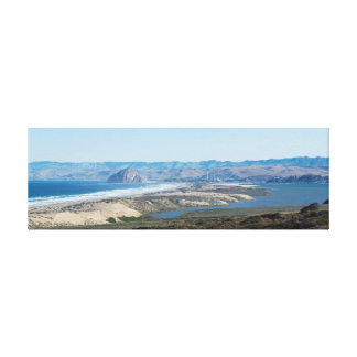 Morro Bay from Montana de Oro Canvas Canvas Print