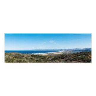Morro Bay from Montana de Oro Photographic Print