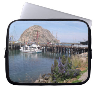 Morro Bay Landscape Laptop Sleeves