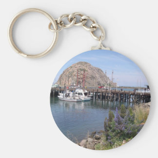 Morro Bay Photo Keychain
