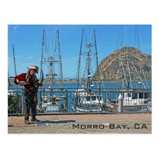 Morro Bay Pirate Postcard! Postcard