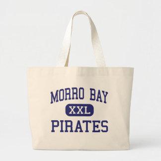 Morro Bay - Pirates - High - Morro Bay California Jumbo Tote Bag