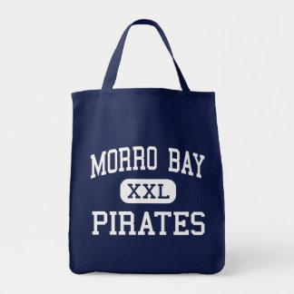 Morro Bay - Pirates - High - Morro Bay California Grocery Tote Bag