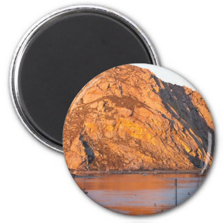 Morro Rock 6 Cm Round Magnet