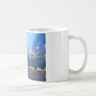 Morro Rock and Horses Mug