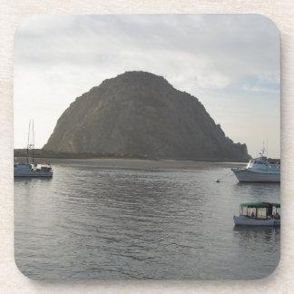 Morro Rock at Morro Bay CA Drink Coaster