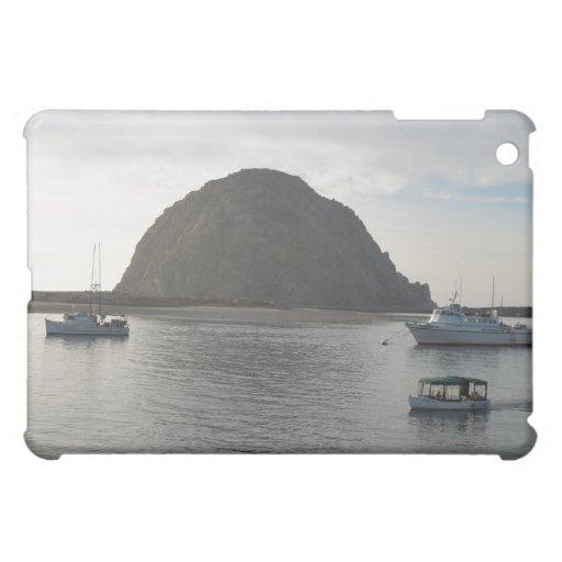 Morro Rock at Morro Bay, CA Case For The iPad Mini