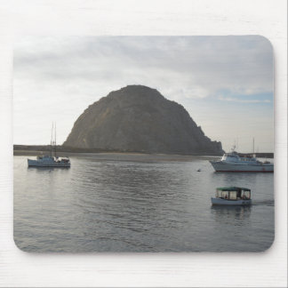 Morro Rock at Morro Bay, CA Mouse Mat