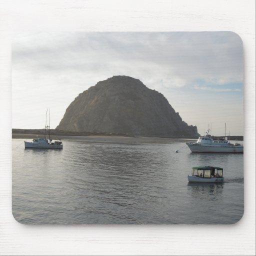 Morro Rock at Morro Bay, CA Mousepad
