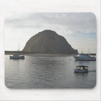 Morro Rock at Morro Bay CA Mousepad