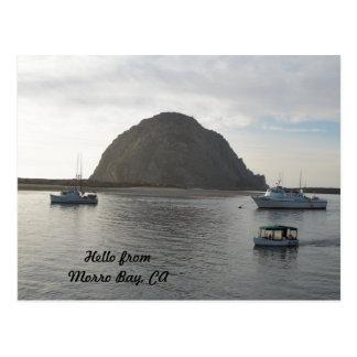 Morro Rock at Morro Bay CA Post Cards