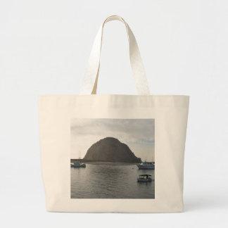 Morro Rock at Morro Bay, CA Canvas Bag