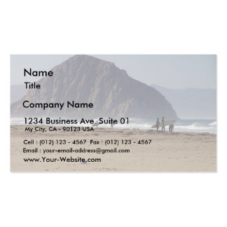 Morro Rock Beaches Surfers Business Card Templates