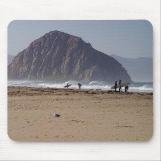 Morro Rock Beaches Surfers Mousepads
