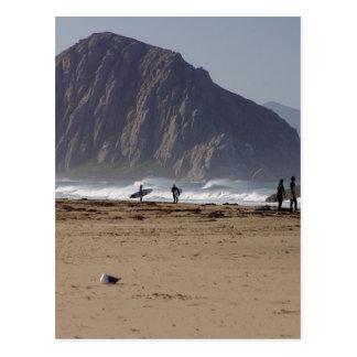 Morro Rock Beaches Surfers Postcards