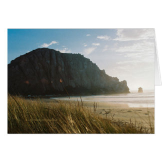 Morro Rock California from the Dunes Greeting Card