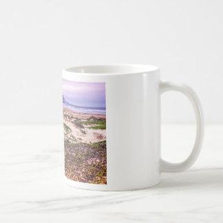 Morro Rock Dunes at Sunset Basic White Mug