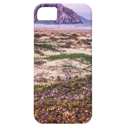 Morro Rock Dunes at Sunset iPhone 5 Case