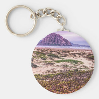 Morro Rock Dunes at Sunset Key Chains