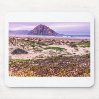 Morro Rock Dunes at Sunset Mouse Pads