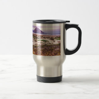 Morro Rock Dunes at Sunset Coffee Mug
