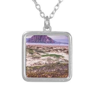 Morro Rock Dunes at Sunset Personalized Necklace