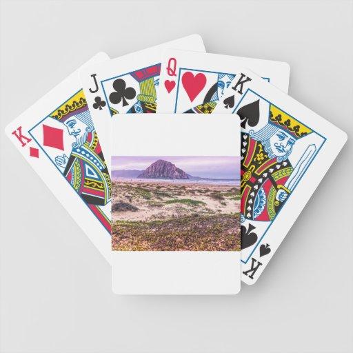 Morro Rock Dunes at Sunset Card Decks