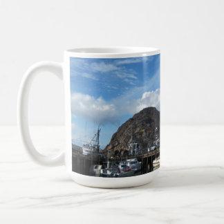 Morro Rock, Fishing Boats and the Embarcadero Mug