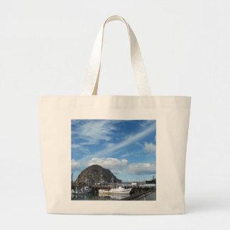 Morro Rock, Fishing Boats and the Embarcadero Tote Bags