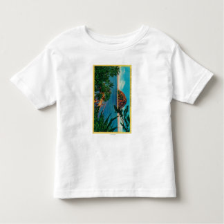 Morro Rock in San Luis Obispo County Toddler T-Shirt