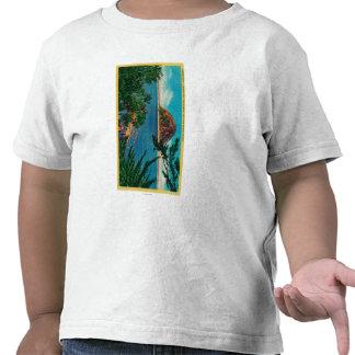 Morro Rock in San Luis Obispo County Tee Shirt