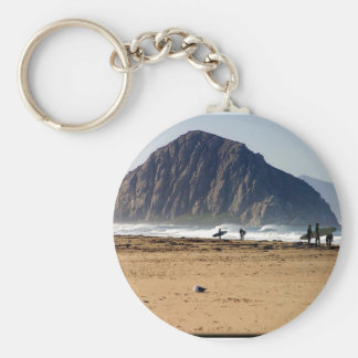Morro Rock Key Chain