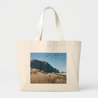 Morro Rock Large Tote Bag