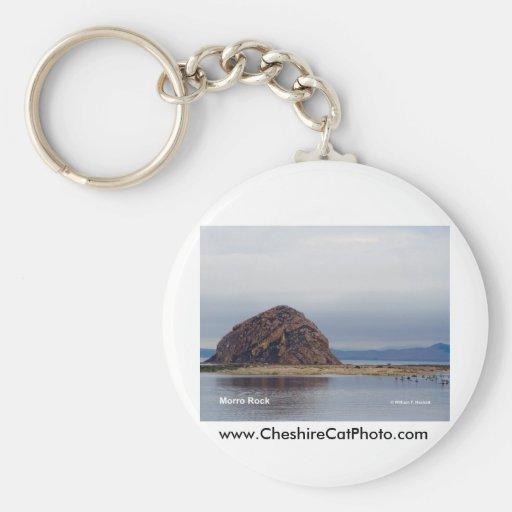 Morro Rock Morro Bay California Products Keychains