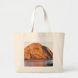 Morro Rock Jumbo Tote Bag