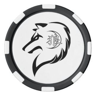 MORS Wolf Edition Poker Chips