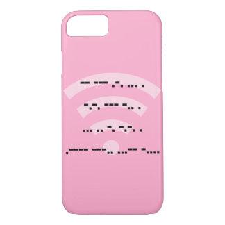 Morse code pink design phone case various models