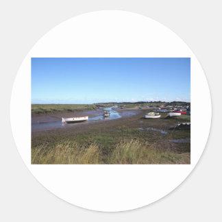 Morston, North Norfolk Classic Round Sticker