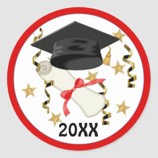 Mortar and Diploma Graduation 2012 - Customise Sticker