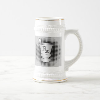 Mortar and Pestle Beer Steins