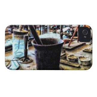 Mortar and Pestle in Chem Lab iPhone 4 Covers