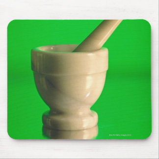 Mortar and pestle mouse mat